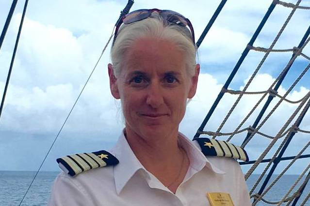 Whittaker Becomes First Canadian Female Cruise Ship Captain