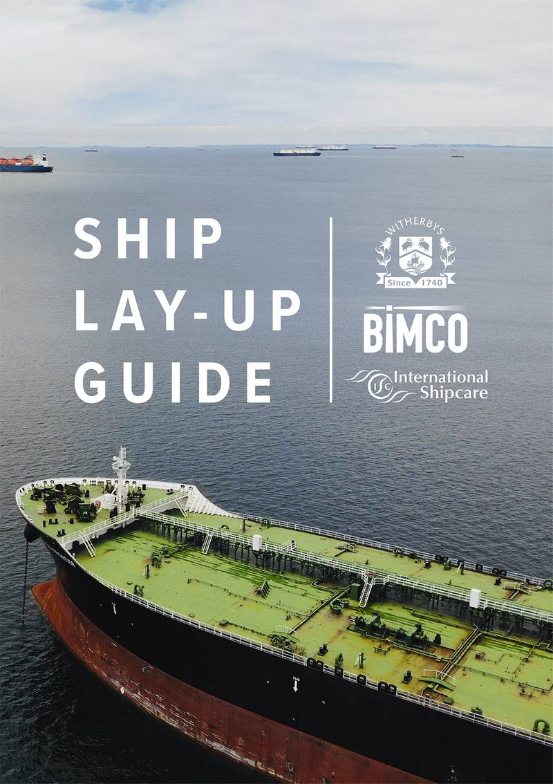 Witherbys Releases Ship Lay Up Guide