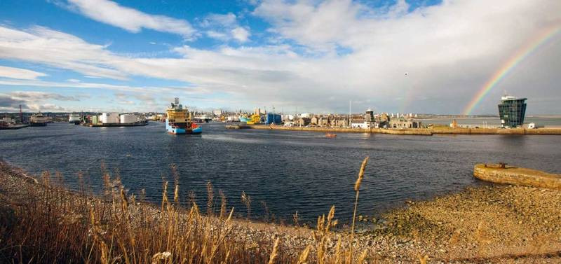 Photo: Aberdeen Harbour