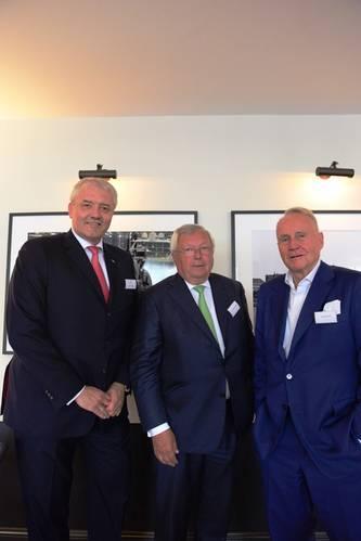 RHL founding partners Left to right: Hauke Pane, Dr.Christian Olearius, Harald Block  (Photo: RHL)