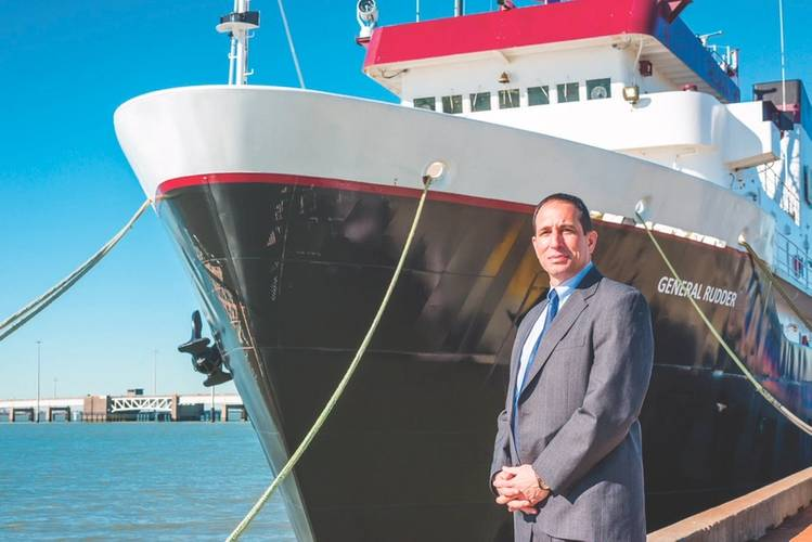 Admiral Michael Rodriguez, Superintendent of Texas A&M Maritime Academy