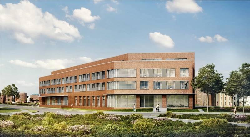 MVW Alter Holzhafen visualization of the new accommodation facility photo MV WERFTEN