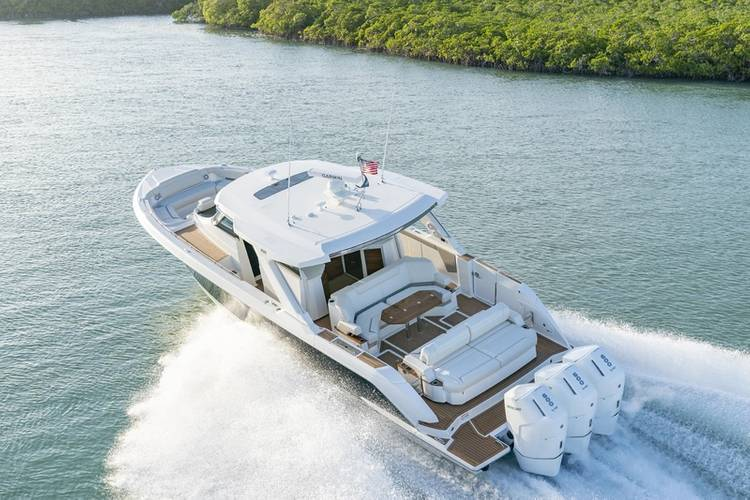 Always mindful of the end-user, in recent years, he saw increasing demand for larger, outboard-powered products with more luxurious appointments. That led to the company's move in 2017 to develop a suite of outboard-powered boats that meshed the luxury, quality, utility and performance of the company's inboard series. Since then, its luxury outboard portfolio has skyrocketed in popularity, leading to the launch of the 48 LS, the flagship of the LS Series, in February 2021, making it the largest