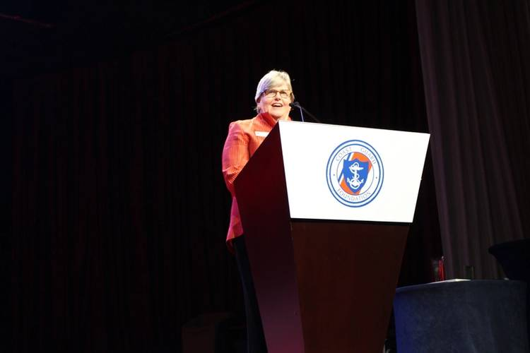 Anne Brengle, president, Coast Guard Foundation (Photo: Coast Guard Foundation)