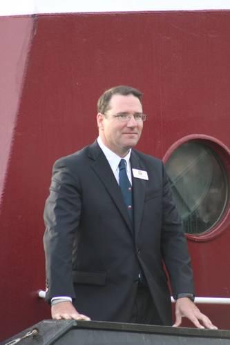 (Buckley McAllister, president, McAllister Towing. Photo: Greg Trauthwein)