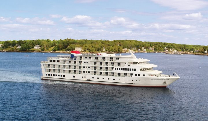 New 2018 coastal cruise ship, American Constitution (Photo: American Cruise Lines)