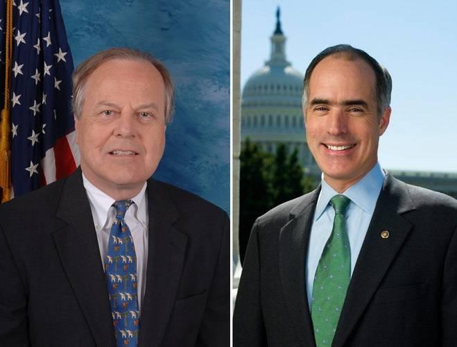 Congressman Ed Whitfield (left) U.S. Senator Bob Casey
