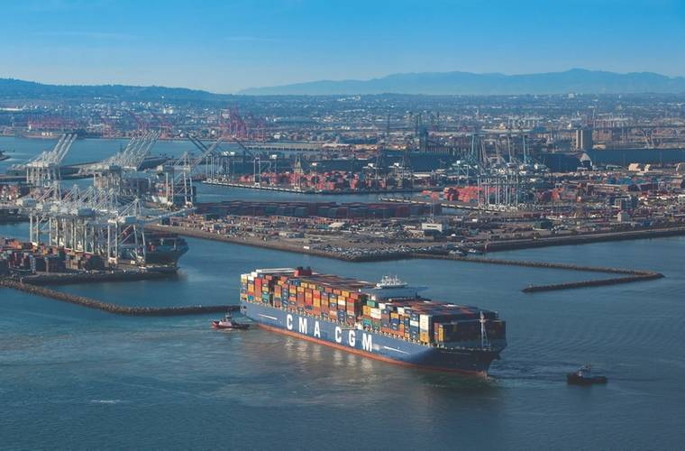CMA CGM Corte Resal (Photo: Port of Long Beach)