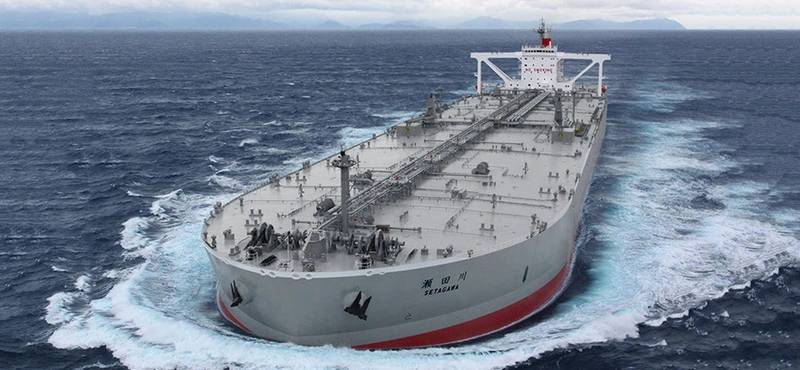 """K"" Line counts 17 tankers comprising 2.5 million DWT in its fleet. Photo: ""K"" Line"