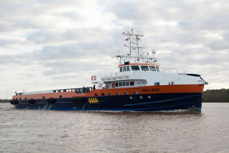 Delivery of Second Very Fast Offshore Support Vessel Courtesy Incat Crowther