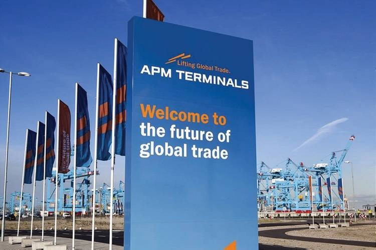 """The Future of Global Trade"" at the launch of APM Terminals Maasvlakte II"
