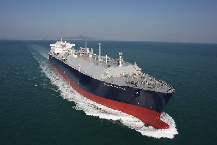 "GasLog will probably have five or six ships in dry dock this year. ""I'd very much like to install a system that the Coast Guard approved. I think most ship owners think if you can't trade with the U.S., you're devalued to a degree,"" said Westgarth. (Source: GasLog)"