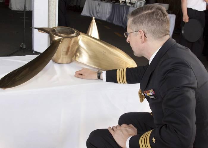 Jan Hackstein, German Naval Attache (Photo: MCA)