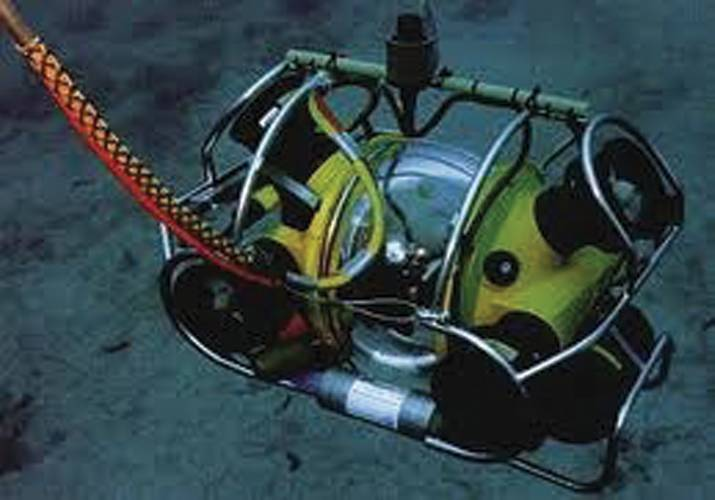 The HyBall ROV.