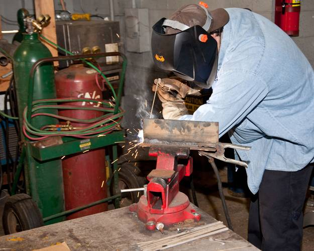 Ingalls conducts an 11-week pre-employment welding program at Bishop State's Carver Campus in Mobile, Ala. Students in the programs are guaranteed positions at Ingalls if they complete their training and meet all other conditions of employment. Photo courtesy of Bishop State Community College