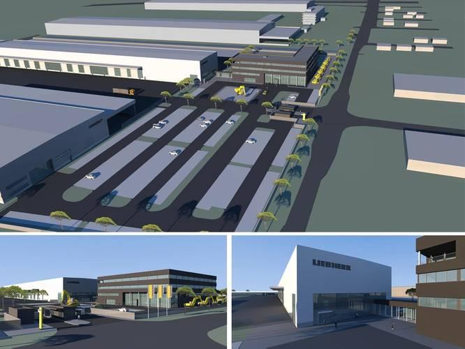 Liebherr's new expansion in Newport News, Va. (Image: Liebherr)