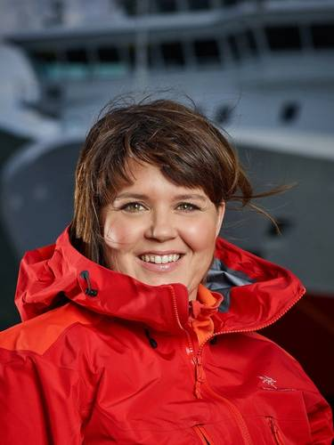 Marit Finnanger - Hurtigruten SVP, People and Organizational Development (Credit: Ørjan Bertelsen/courtesy Hurtigruten AS)