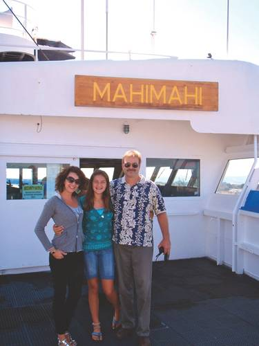 The maritime industry worldwide faces a looming generation gap and seafarer shortage. Balancing a life at sea and family needs shoreside is a delicate act, one that Captain Bernhard has accomplished successfully with the support of his wife Franziska and daughter Charlotte.