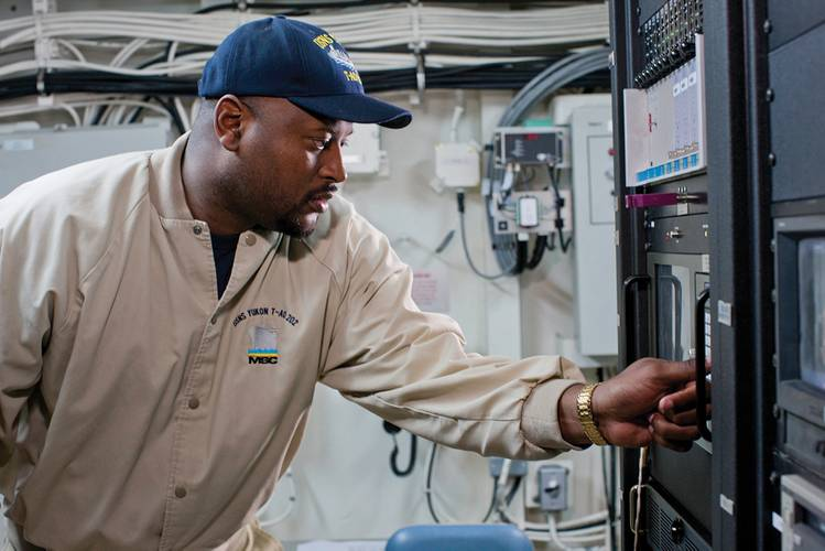 Military Sealift Command is a workforce of more than 9,500 people worldwide, most of whom serve at sea. In fact, about 80% of its people serve at sea, aboard non-combatant Navy ships, as civil service mariners (CIVMARs) who are federal employees.