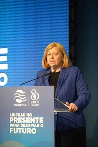 Ministra do Mar - Ana Paula Vitorino Photo ETE Group