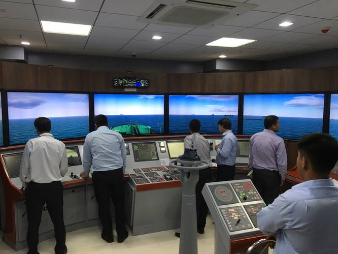 Full Mission Bridge Simulator Photo Goodwood Ship Management