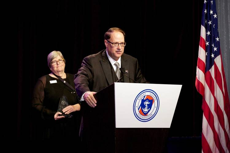 Morton S. Bouchard III, President and CEO of Bouchard Transportation (Photo: Coast Guard Foundation)