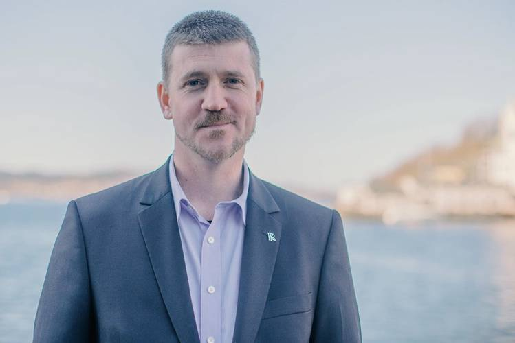 Oscar Kallerdahl, Rolls-Royce Marine's vice-president of LNG systems