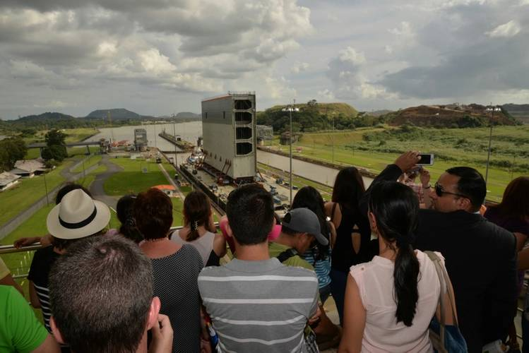 Gate for Panama Canal Expansion