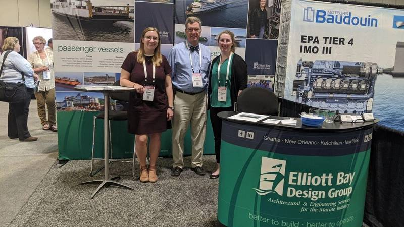 EBDG at the Passenger Vessel Association event earlier this year.