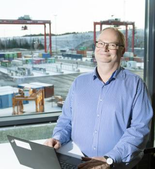 Pekka Yli-Paunu, Director, Automation Research, Kalmar