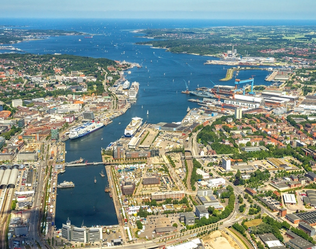Photo courtesy of Port of Kiel