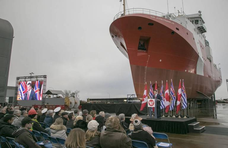 Canada Launches Offshore Fisheries Science Vessel