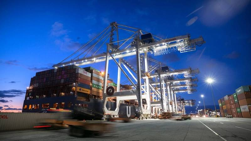 Photo:  Port of Savannah