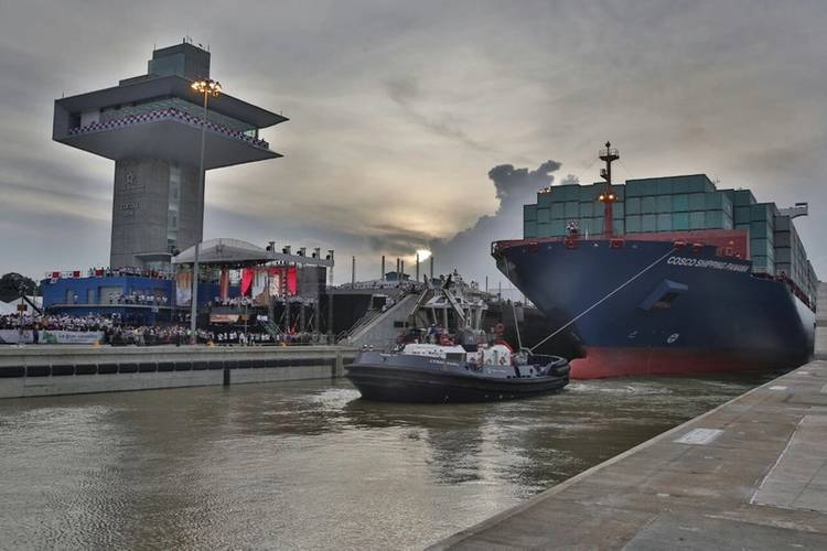 Photos: Official Twitter account of the Panama Canal
