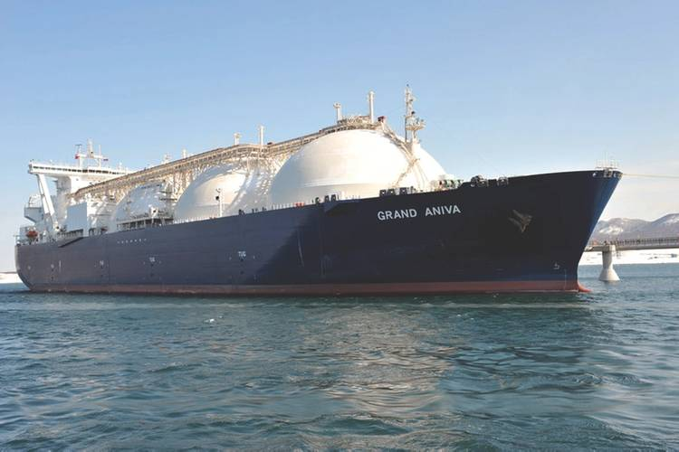 Gas & Power liquefied natural gas tanker in Sakhalin, Russia. (Photo: Shell)