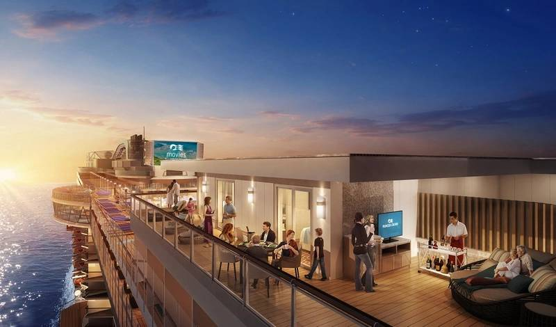 A rendering of the new Sky Suites onboard Princess Cruises new ship, Sky Princess (Photo courtesy of Carnival Corporation)