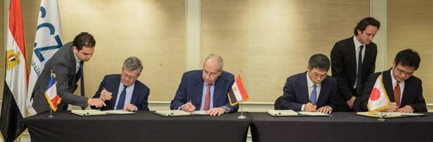 Signing ceremony held on December 19, 2019, in Cairo, Egypt (Photo: NYK Line)