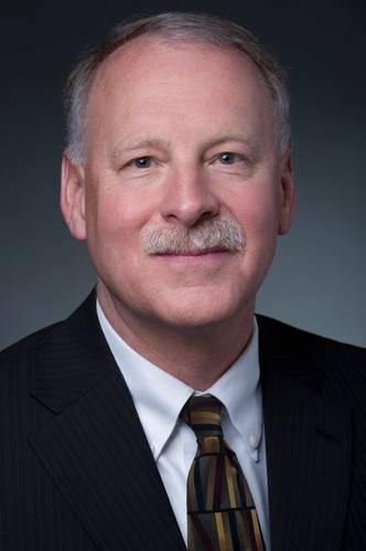 Rick Spaulding, vice president of business process standardization at Newport News Shipbuilding. (Image Credit: HII)
