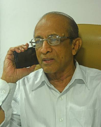 Tebma Shipyards Ltd. Senior Vice President M. Balasubramaniam (Photo: Haig-Brown/Cummins)