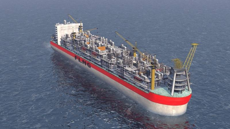 FLNG as of today 2015 (Image courtesy of DNV GL)