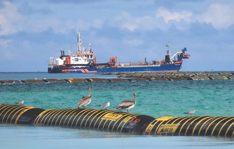 Trailing suction hopper dredger – Costa Dorada (Photo: Van Oord)