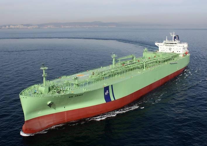 A BW vessel underway. CREDIT BW LPG
