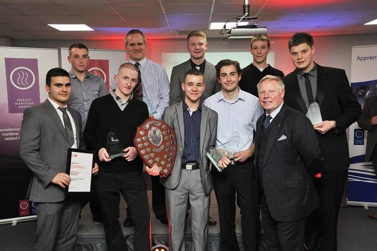 Winner at the annual Maritime and Engineering College North West (MECNW) Apprenticeship Awards