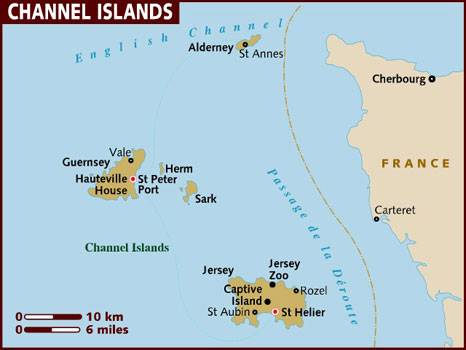 The Channel Islands Are An Archipelago Located In The English Channel,  Physically Much Closer To France Than To Great Britain. There Are Eight  Populated ...